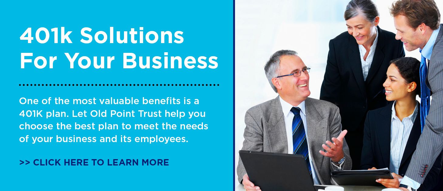 Trust 401K for Business Web Banner
